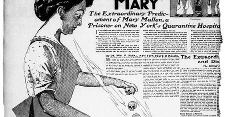 quién era María Tifoidea