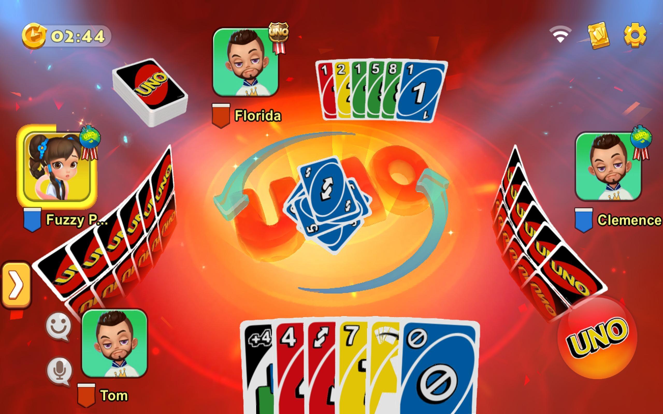 uno juego mesa online