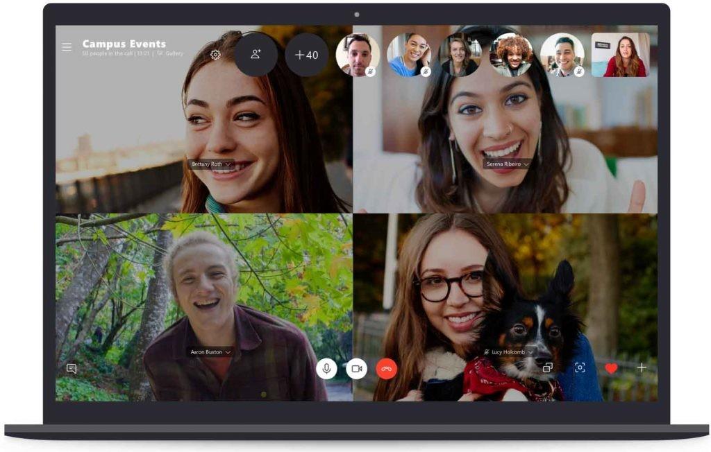 usar Skype para videollamadas
