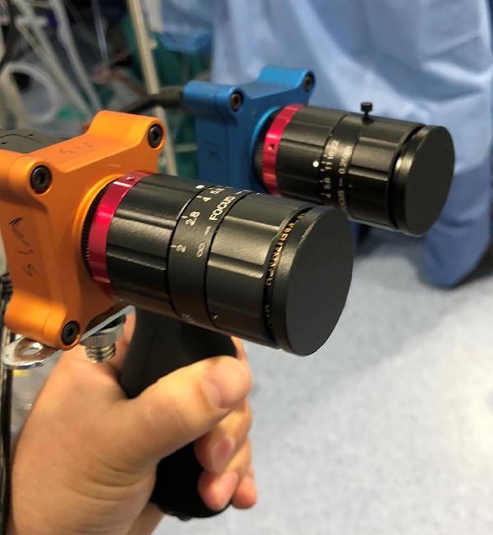 cámara multiespectral y coronavirus