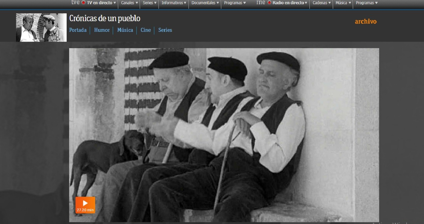 'Crónicas de un pueblo' es recordado por muchas personas mayores