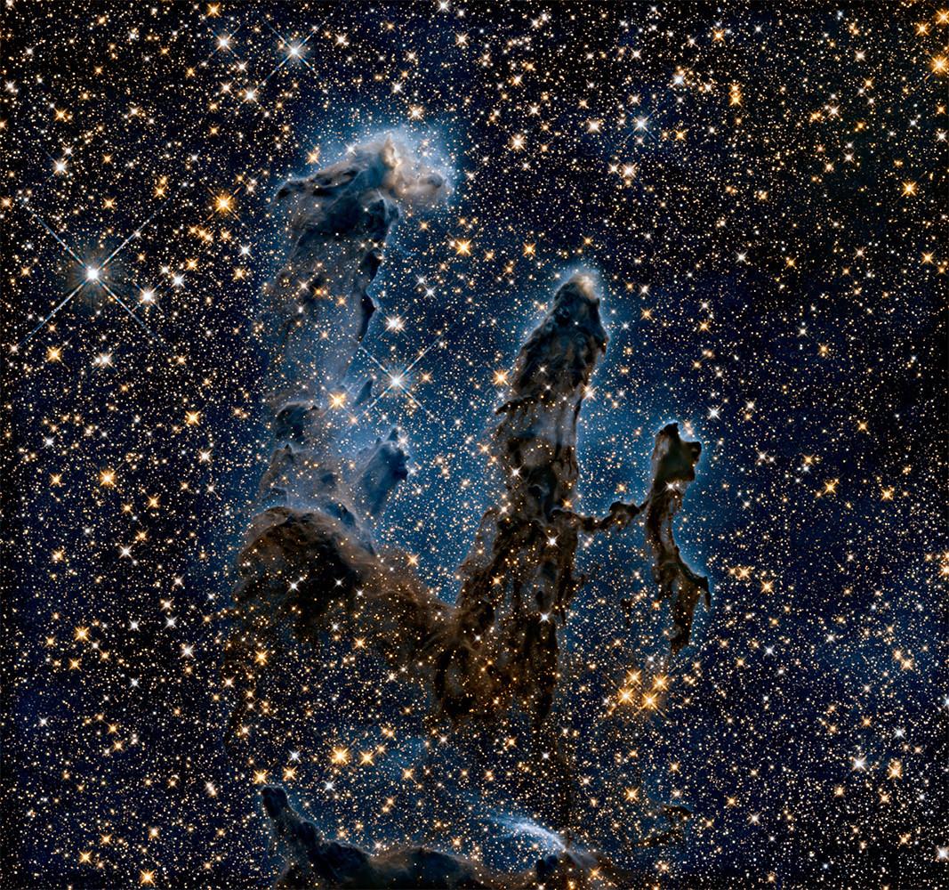 Nueva imagen de los Pilares de la creación.