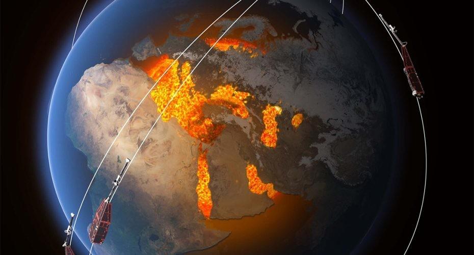 misión Swarm. Campo magnético terrestre