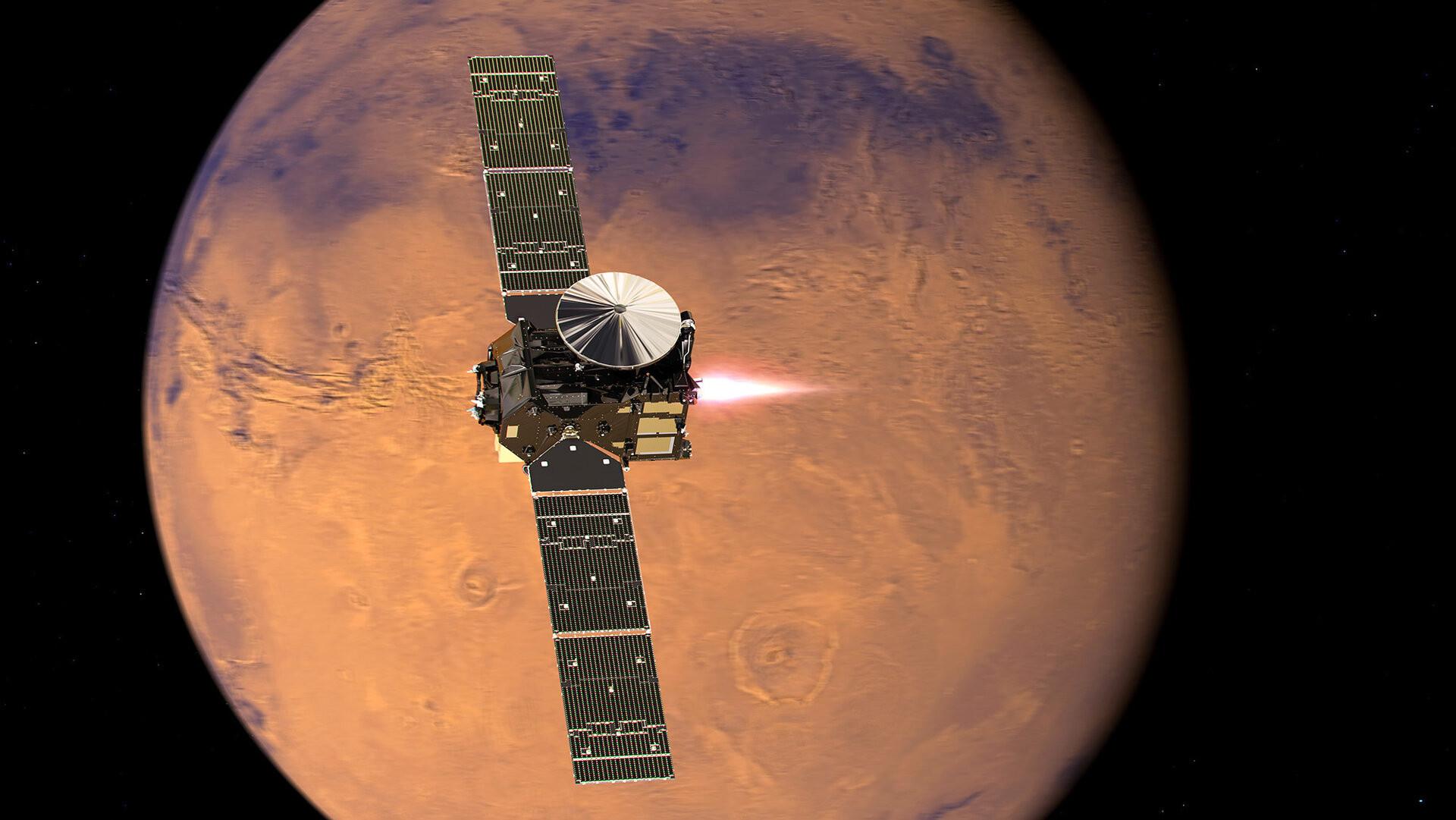 exploración de Marte