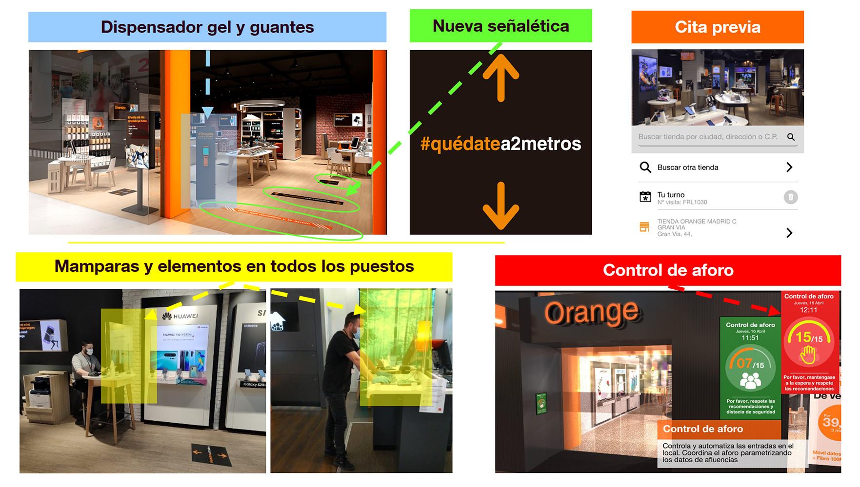 tiendas de orange
