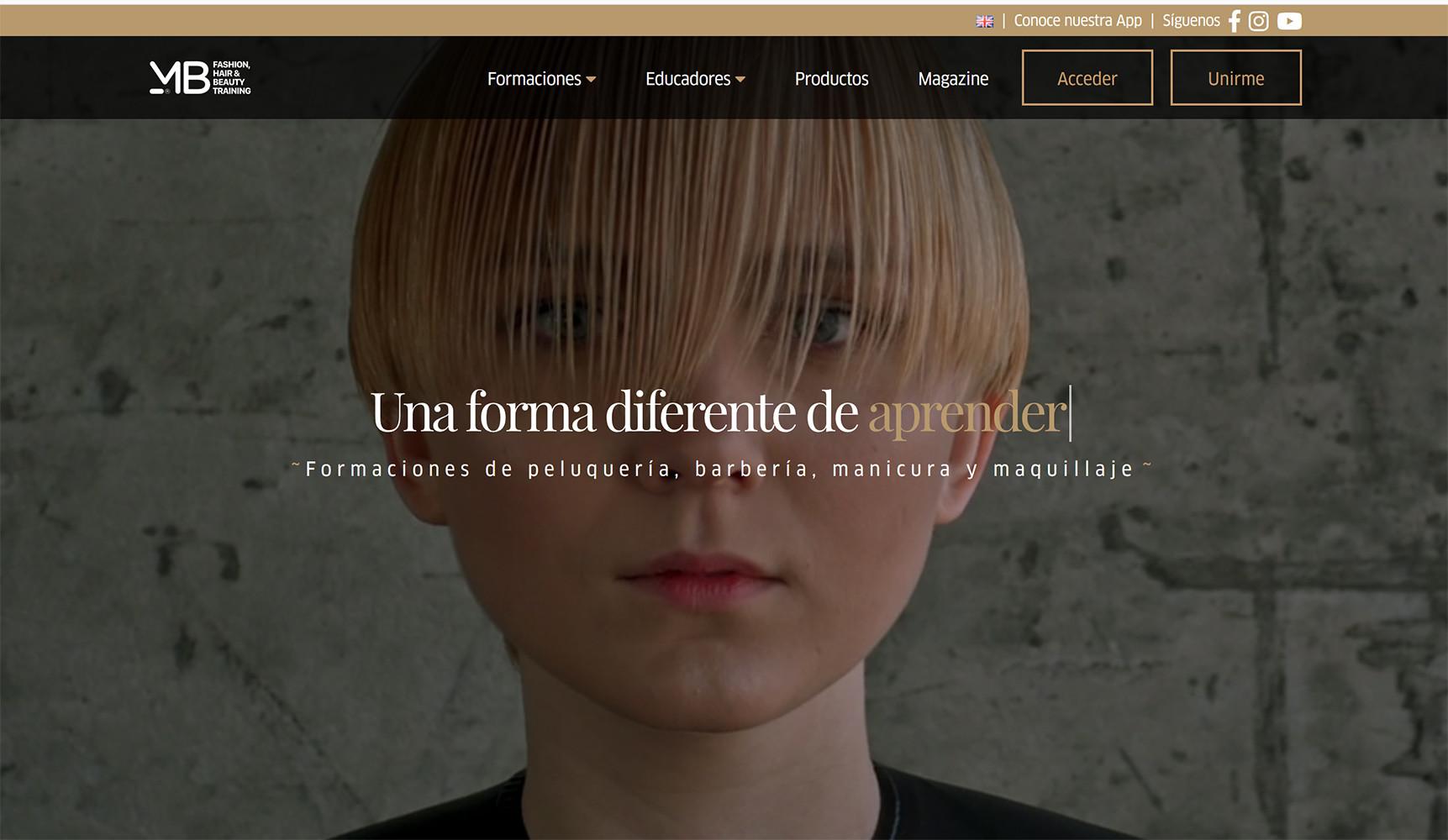"""Formación de los peluqueros ModumB, una empresa española que es el """"Netflix"""" de los peluqueros"""