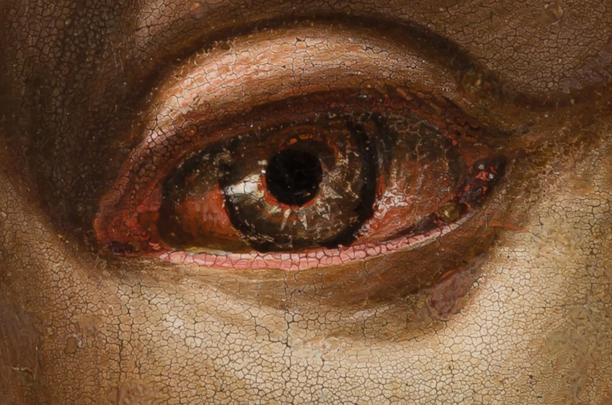Detalle de Cristo resucitado, de Bramantino.