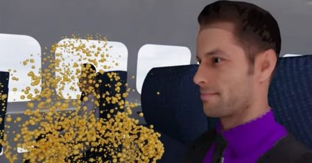 mascarilla en el avión