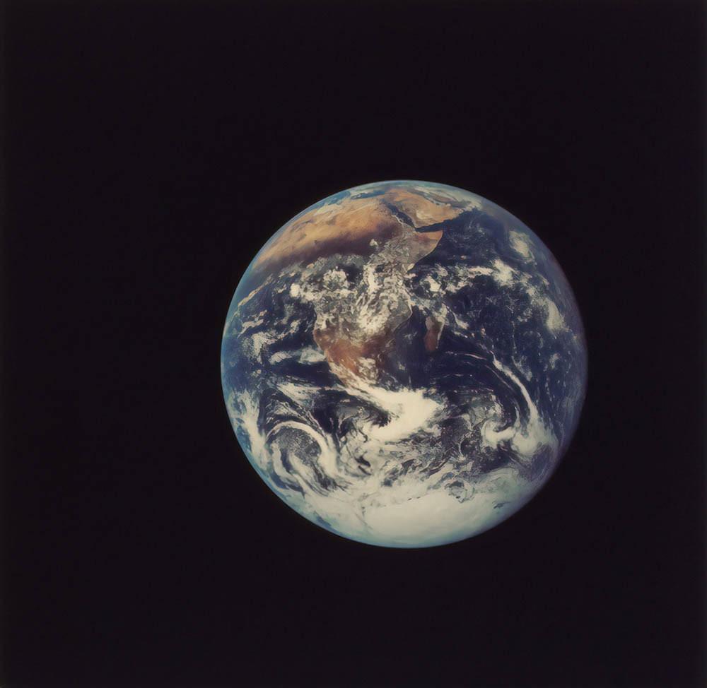 imagen del planeta Tierra hace 50 años