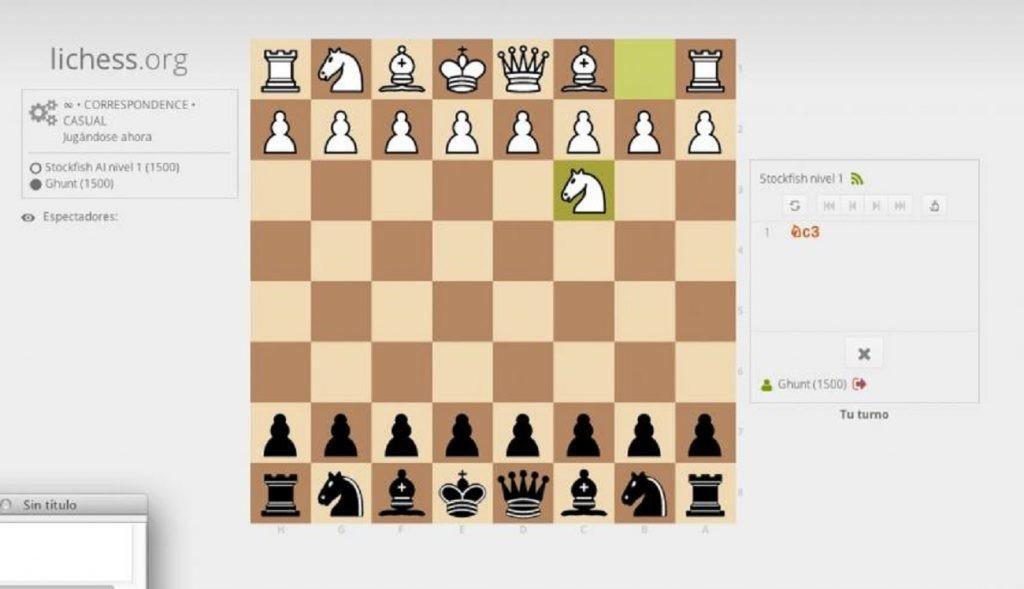 Lichess.org- ajedrez online