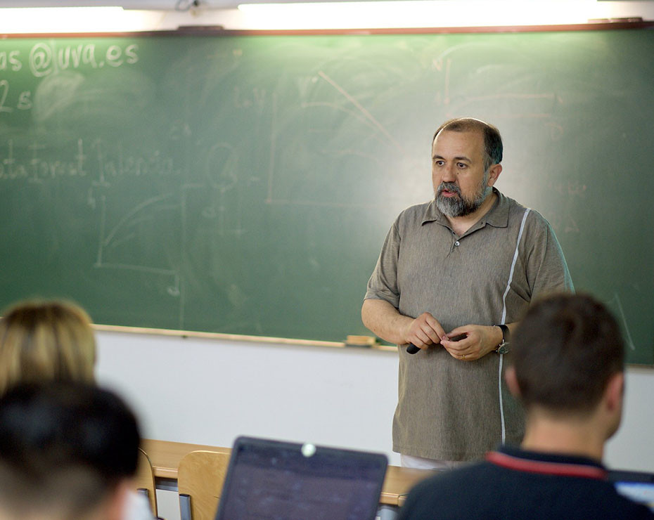 Felipe Bravo, profesor catedrático de Planificación forestal en la Universidad de Valladolid y presidente de la Sociedad Española de Ciencias Forestales (SECF).