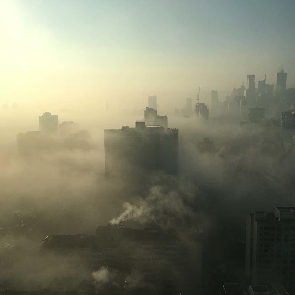 contaminación relacionada con la pandemia de COVID-19