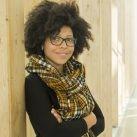 Zinthia Álvarez, autora del proyecto 'Mujeres negras que cambiaron el mundo'