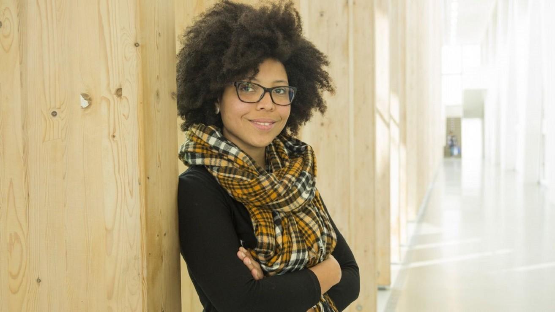 Zinthia Álvarez, autora del proyecto Mujeres negras que cambiaron el mundo