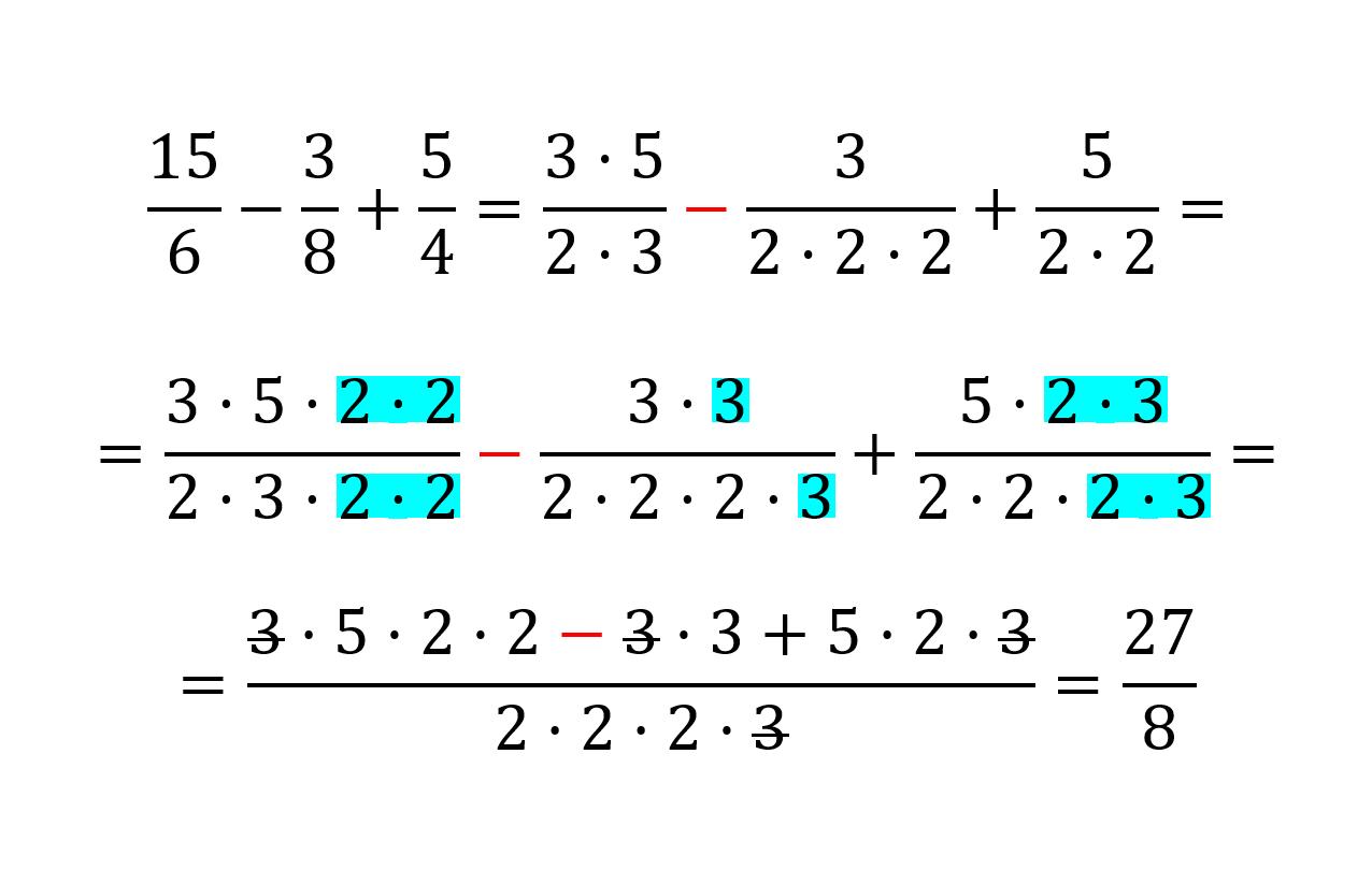 Cómo Resolver Fracciones Suma Resta Multiplicación Y División