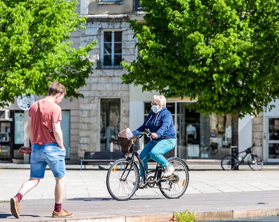el transposte mas sostenible es la bicicleta