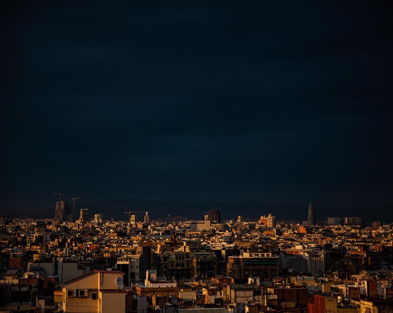 tormenta de gota fría en Barcelona