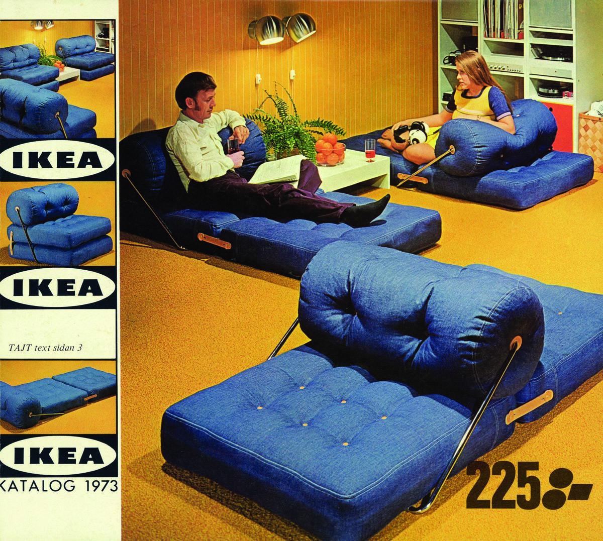 Catálogos de IKEA 1973