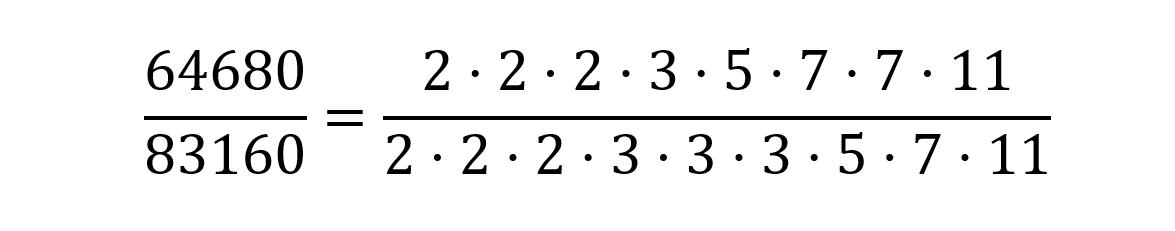 simplificacion fraccion