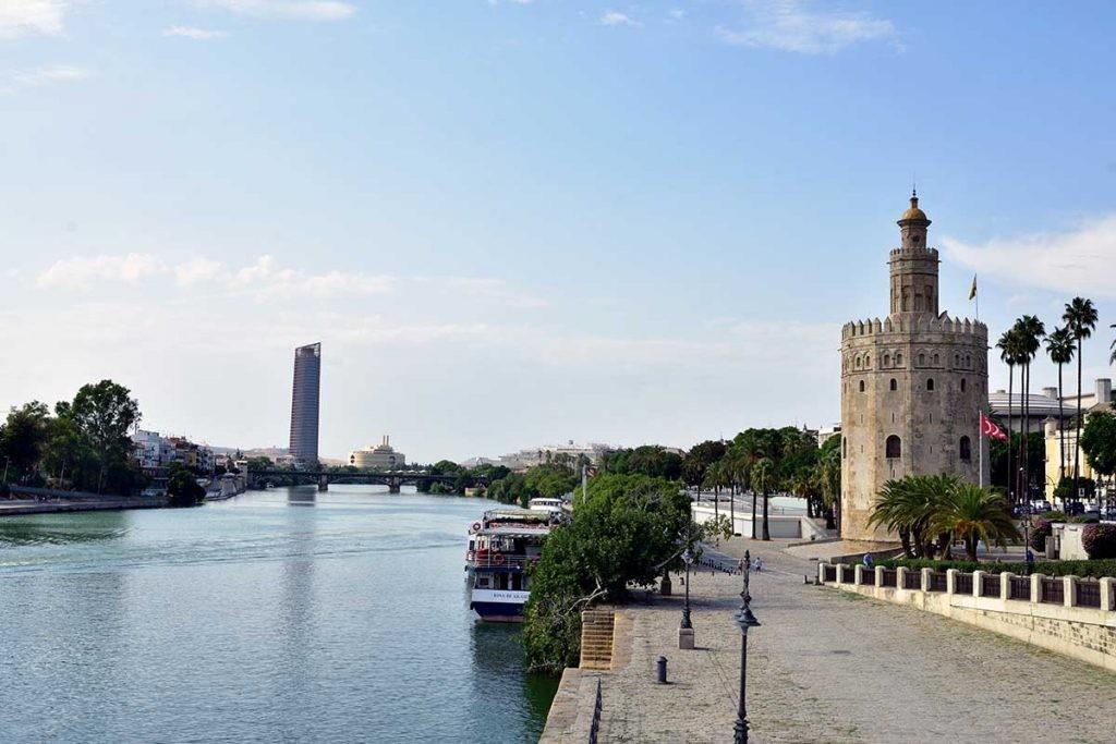 el Guadalquivir en Sevilla