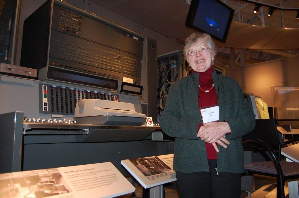 Por qué debemos recordar a Frances Allen, primera mujer que ganó el Premio Turing