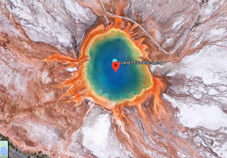 lugares raros de Google maps