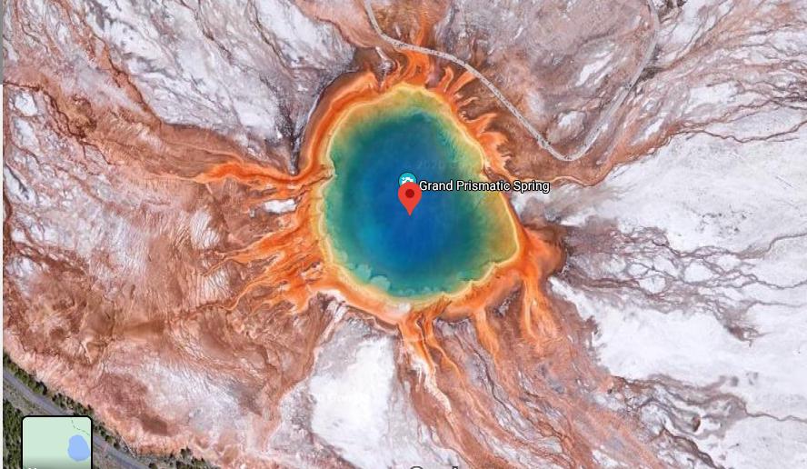 Gran Fuente Prismática, Parque Nacional de Yellowstone