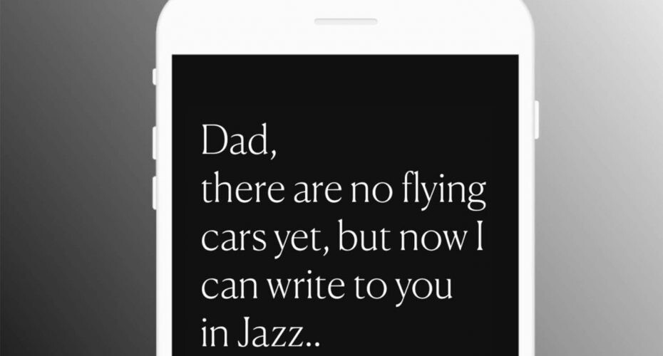 JazzKeys, mensajes a ritmo de jazz
