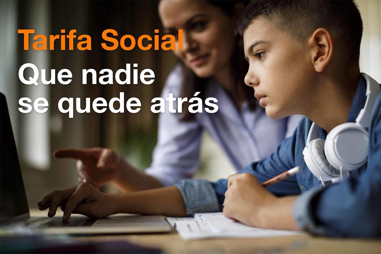 Tarifa social de Orange. Ingreso Mínimo Vital.