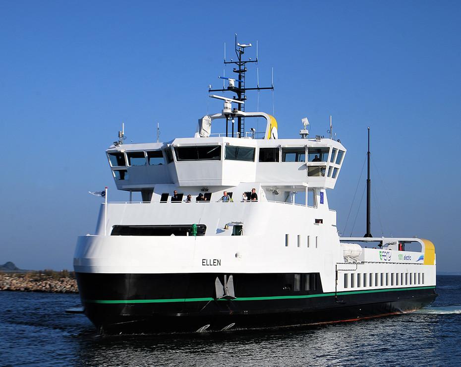 barco electrico E-Ferry Ellen
