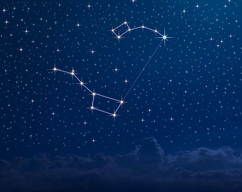 Guía para ver las constelaciones: Osa Menor.