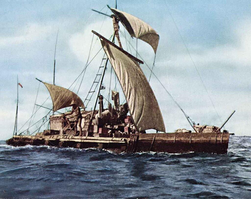 la balsa Kon-Tiki