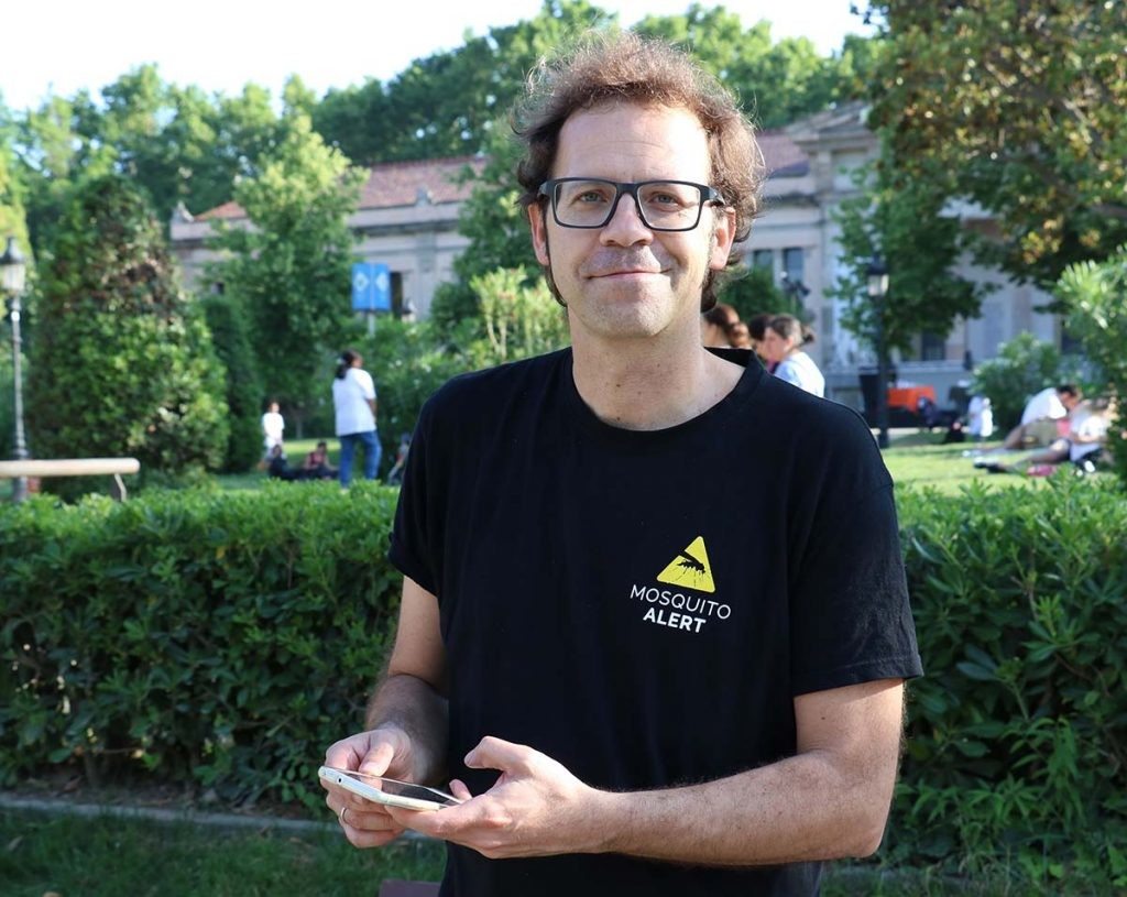 Frederic Bartumeus, director de Mosquito Alert
