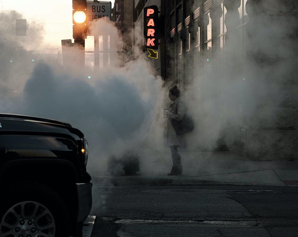 tráfico y contaminación en las ciudades