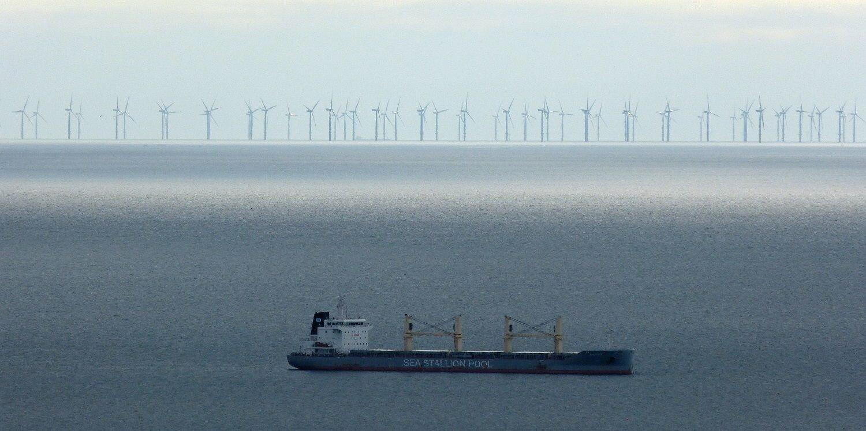 Parque eólico marino Gwynt y Môr