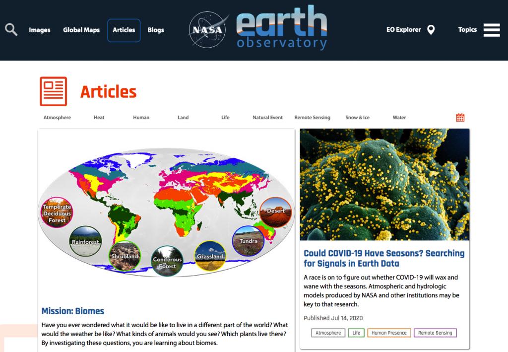 Observatorio de la Tierra