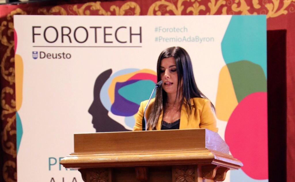 Ana Freire premio Ada Byron