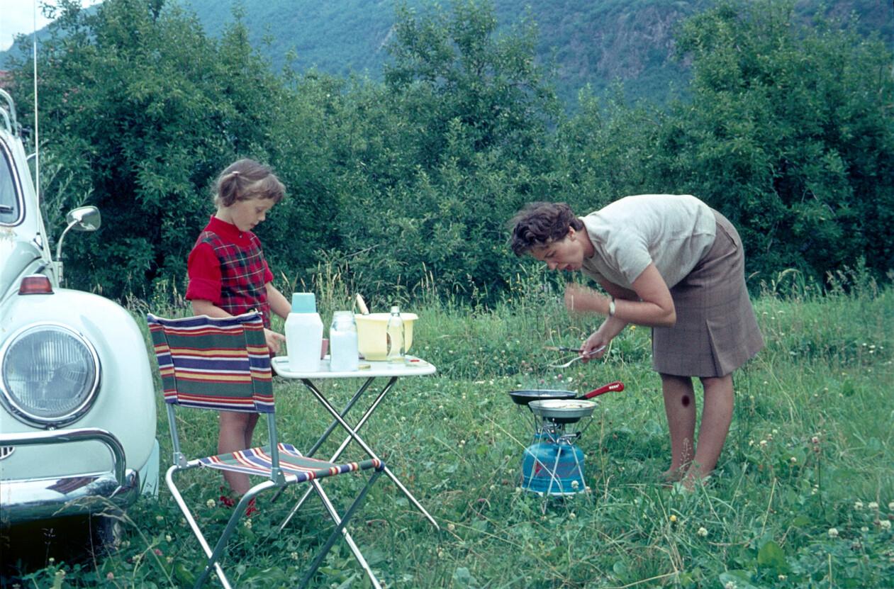 Suiza en los años 60.