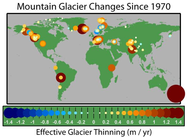 glaciares que desaparecen
