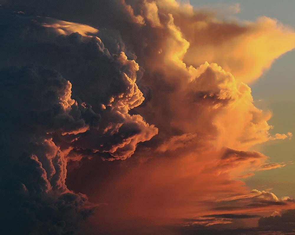 nubes y cambio climático