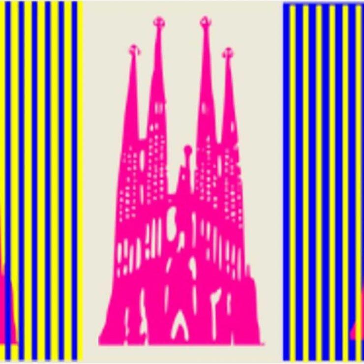 ilusiones visuales Sagrada Familia