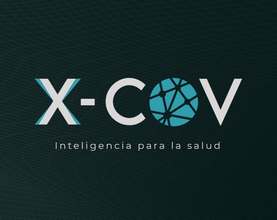 logo de la plataforma X-COV