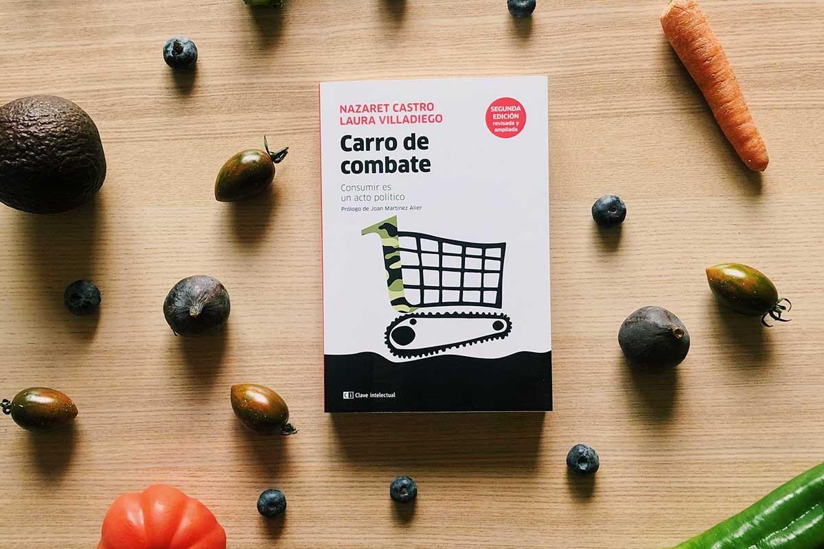 Laura Villadiego y Nazaret Castro han sacado una segunda edición de vuestro libro, 'Consumir es un acto político'