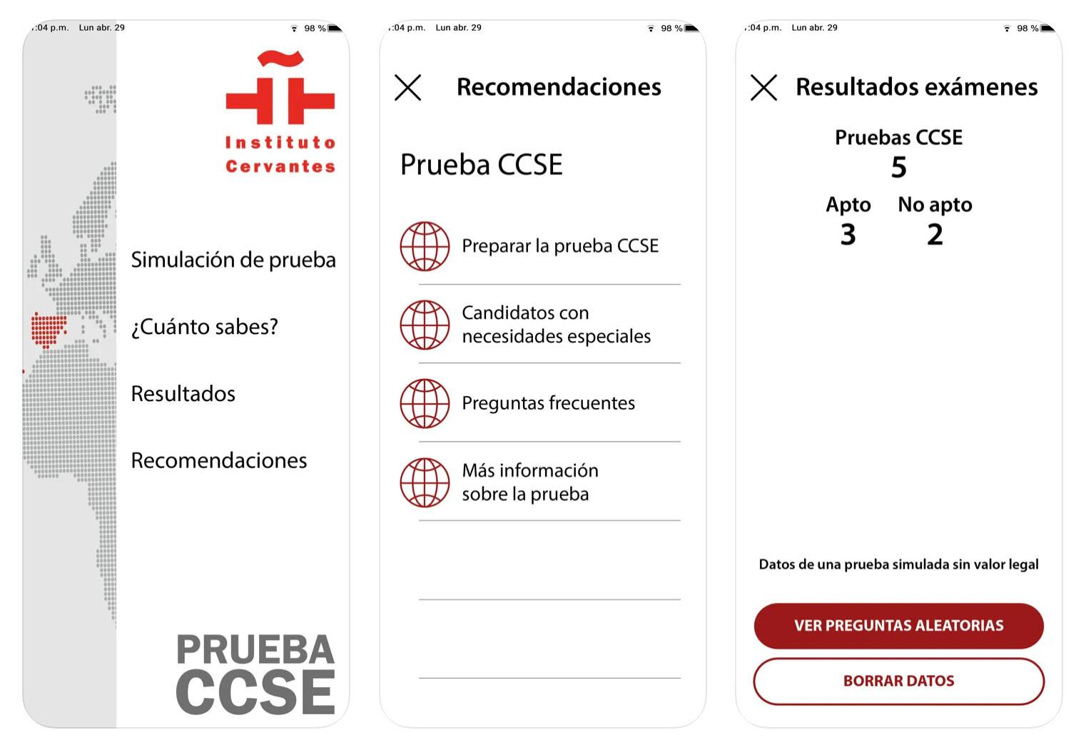 Prueba CCSE para conseguir la nacionalidad española