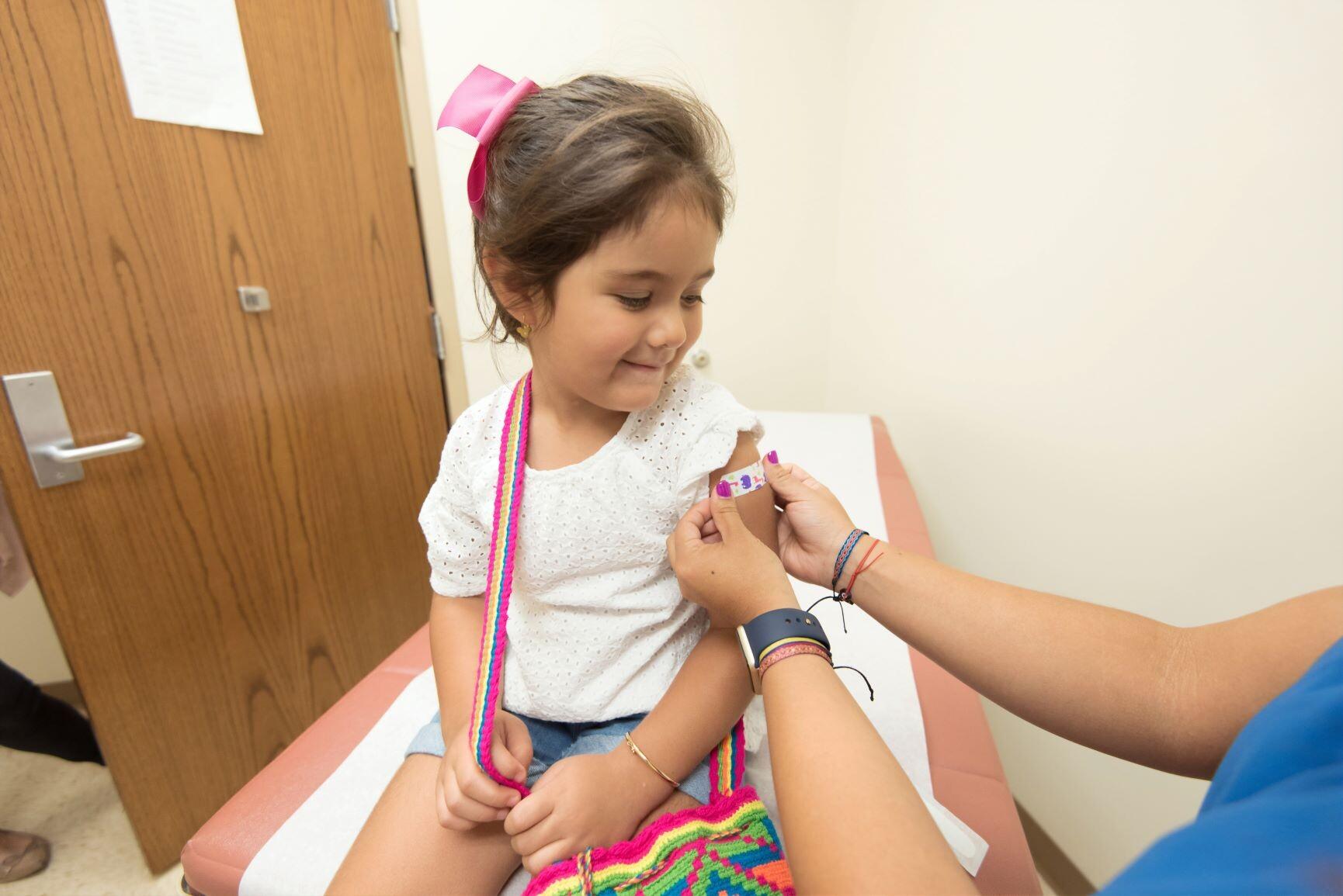 vacuna niña