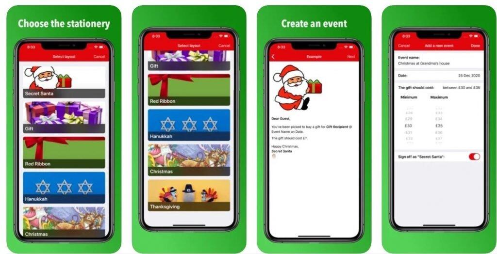App Secret Santa: apps para organizar el amigo invisible