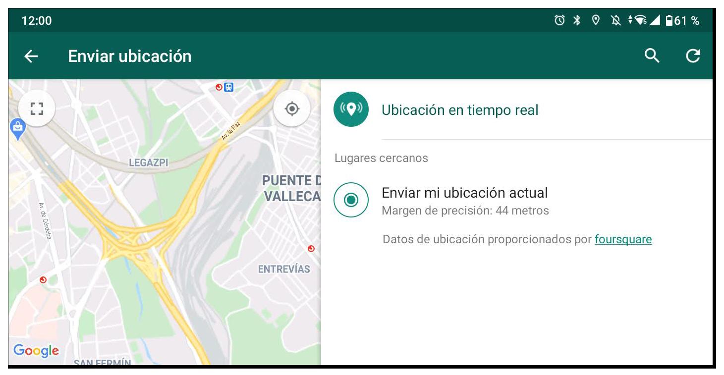 que es whatsapp compartir ubicacion en WhatsApp