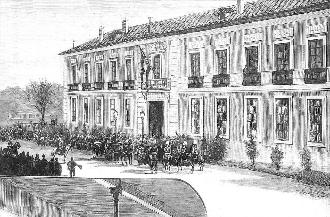 Palacio de las Cocheras de la Reina Madre
