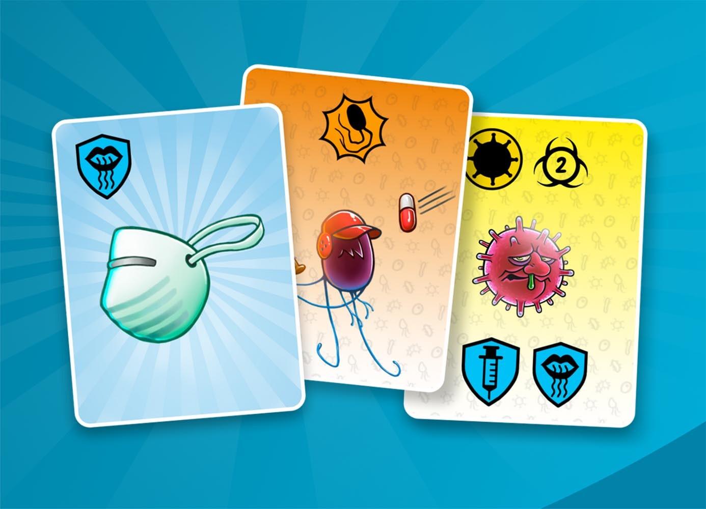 micro-combat. bacterias