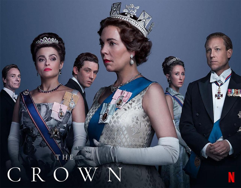series y películas de Netflix. The Crown